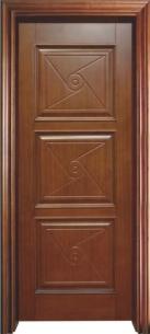 重庆实木套装门YW-1014