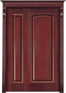 重庆实木套装门YW-1002
