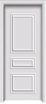 实木复合免漆套装门现代简约风